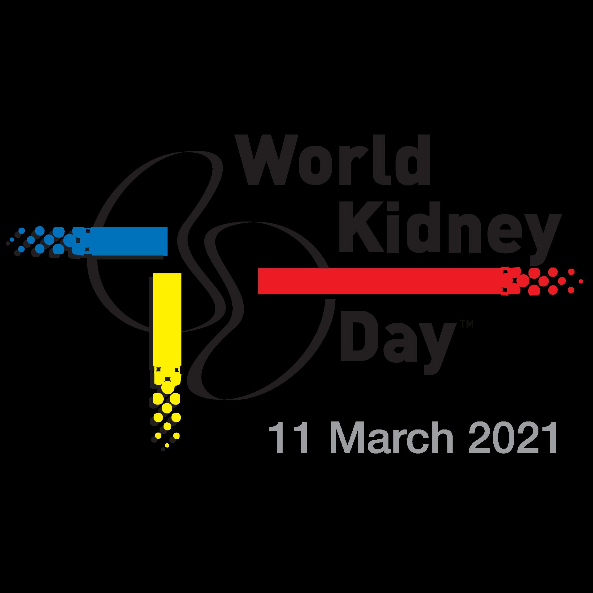 WKD 2021 Logo (with date) - World Kidney Day