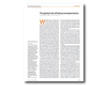 WKD 2012 Scientific Editorial – The global role of kidney transplantation