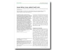 WKD 2013 Scientific Editorial – Acute kidney injury: global health alert