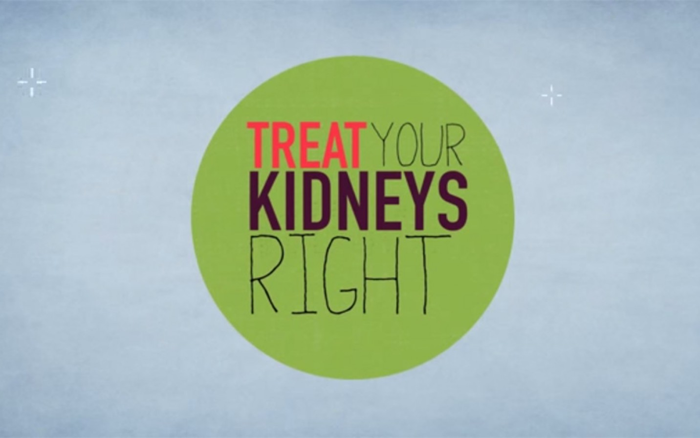 Treat your kids right - world kidney day