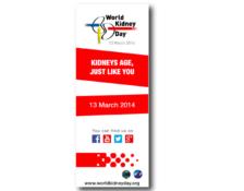 WKD 2014 Campaign Bookmark