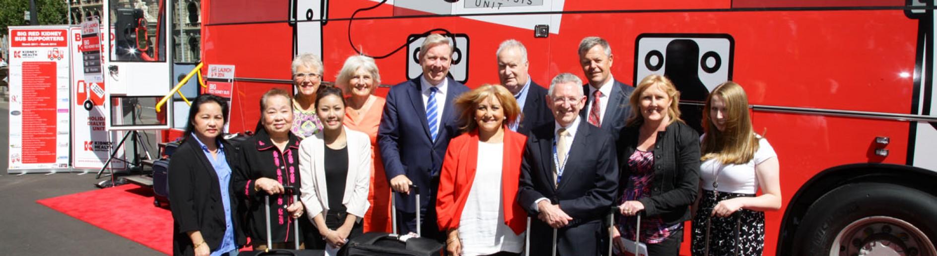 Australia 2014: Big Kidney Red Bus