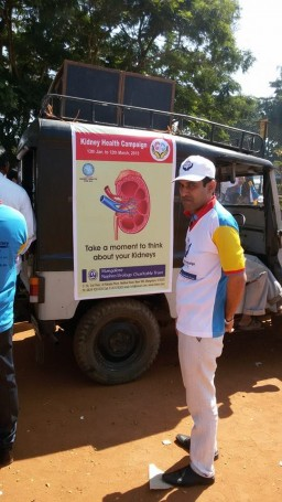 Kidney health Campaign started @ Mangalore ,India