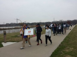 2014 DELC Kidney Walk at Irving, Texas, USA