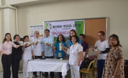 Ice Buko Challenge at Batangas Medical Center (Philippines)