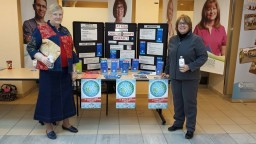 Kidney Foundation of Canada Windsor District Display at Windsor Regional Hospital