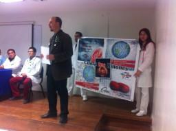 Día mundial del riñón. ISSSTE. Zacatecas, México.