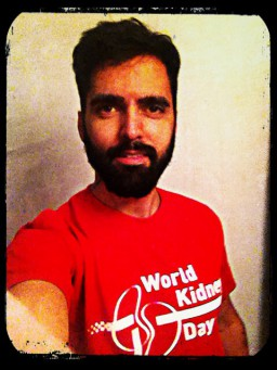 Happy World Kidney Day from Barcelona, Spain
