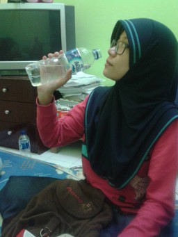 Start everyday with a glass of water – 555