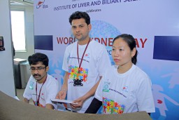 ILBS celebrates World Kidney Day