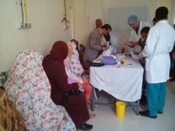 WKD: Screening campaign in Biougra (South of Morocco)