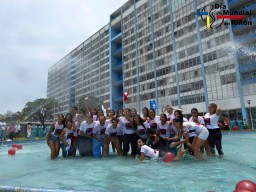 Flashmob Día Mundial del Riñón 2015, Hospital Rebagliati, Lima Perú