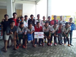Football tournament from fabulous Team in Malang,Indonesia