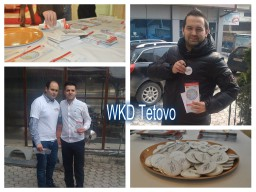 WKD activities in Macedonia