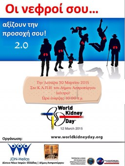 Your kidneys DO need your attention 2.0