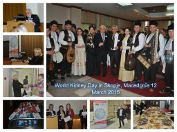 World Kidney Day in Skopje, Macedonia