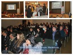 World Kidney Day in Skopje, Macedonia