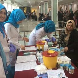 World Kidney Day in İstanbul at Bezmialem Vakif University
