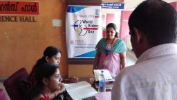 WORLD KIDNEY DAY 2015 AMRITA INSTITUTE