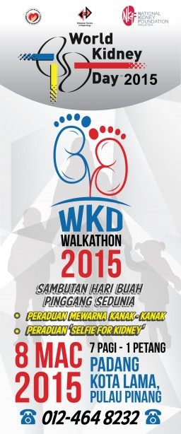 WKD Walkathon National celebration Penang 2015
