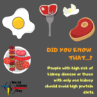 High-Protein Diets and Kidney Disease
