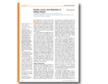 WKD 2019 Scientific Editorial – Burden, access, and disparities in kidney disease