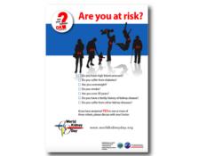 CKD symptoms poster