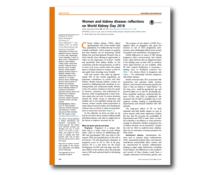 WKD 2018 Scientific Editorial – Women and kidney disease
