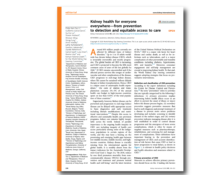 WKD 2020 Scientific Editorial – Kidney health for everyone everywhere – from prevention to detection and equitable access to care