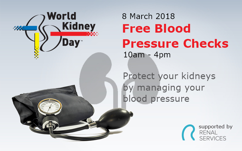 Free Blood Pressure Checks