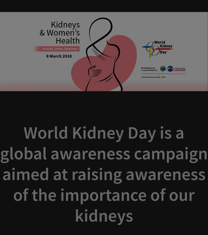 Kidney & women's health