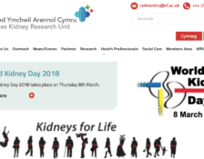 Cycle between Aberystwyth and Cardiff dialysis units