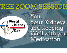 Kidney Wales event: You, your kidneys and keeping well with your medication
